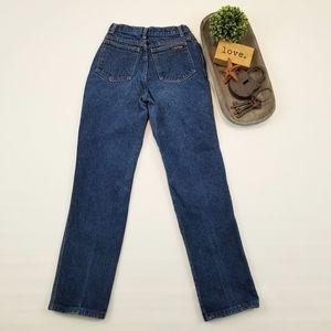 Calvin Klein vintage high waisted dark wash jeans